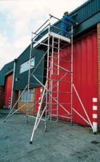 Folding scaff