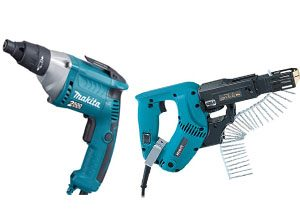 Screwdriver electric and cordless