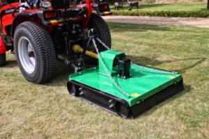 Topper mower attachment
